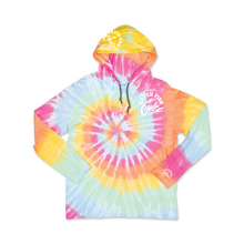 CATCH FISH & CHILL TIE DYE HOODED TEE