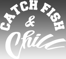 CATCH FISH & CHILL LOGO TRANSFER STICKERS