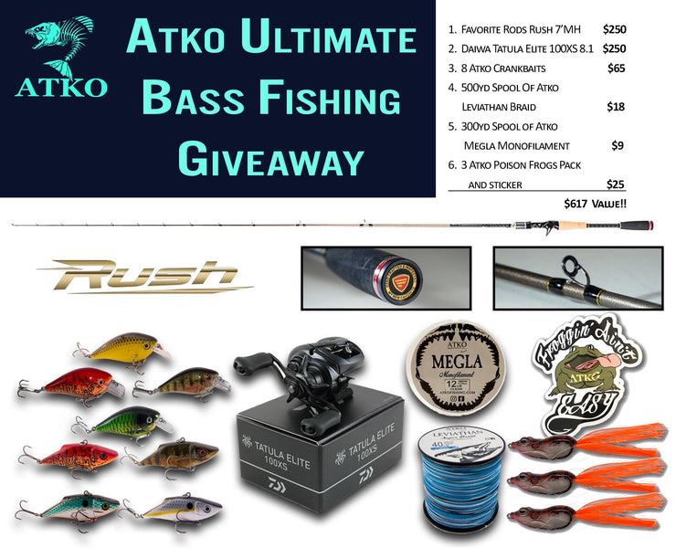 Atko Ultimate Bass Fishing Giveaway