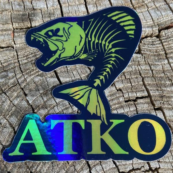 Atko Holographic Sticker