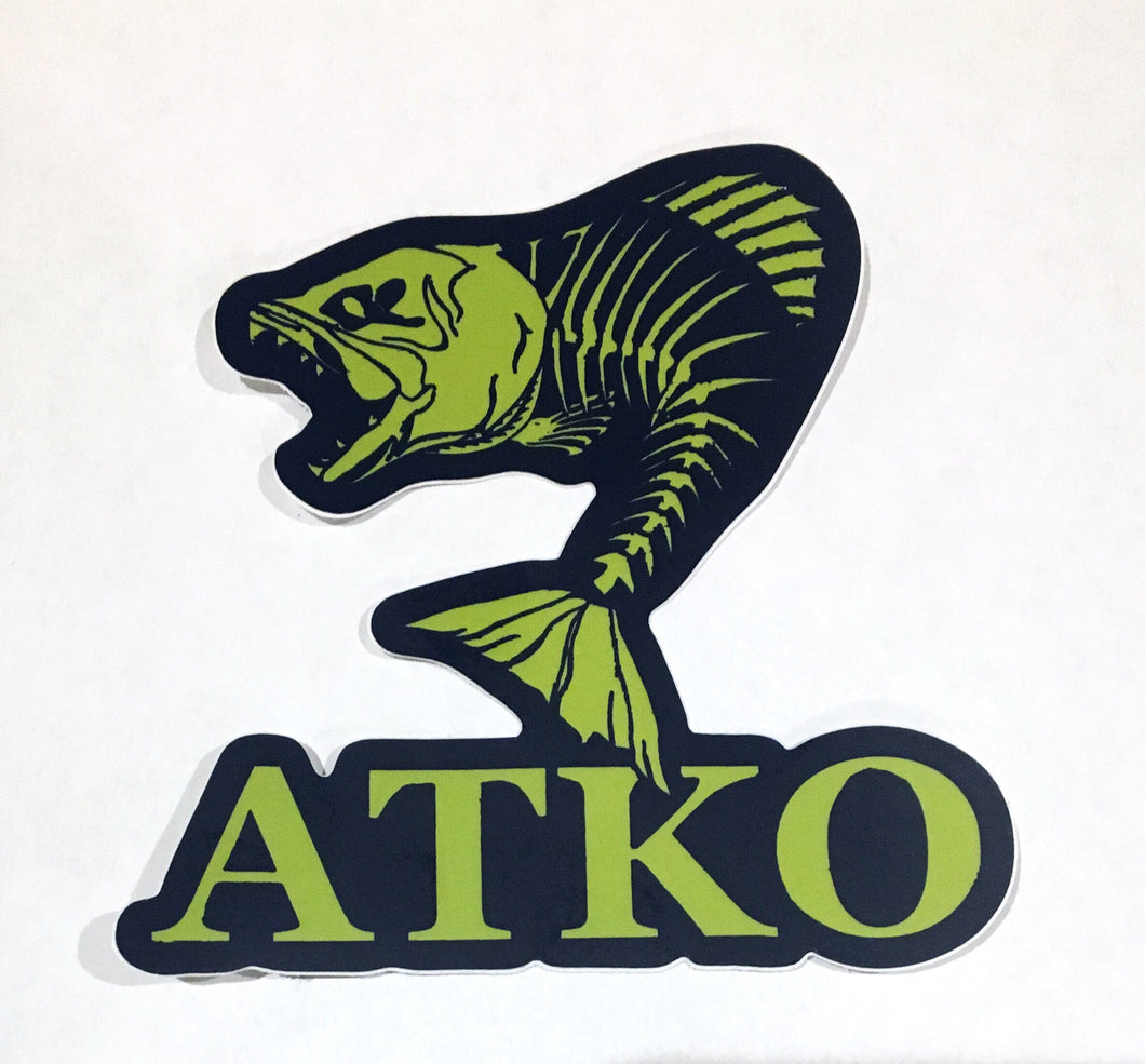 Atko Fish Bones Sticker