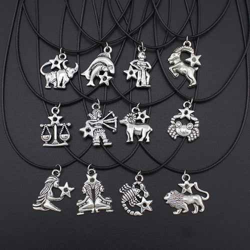 Fashionable Zodiac Sign Pendant Necklace - Positive Buddha Constellations™