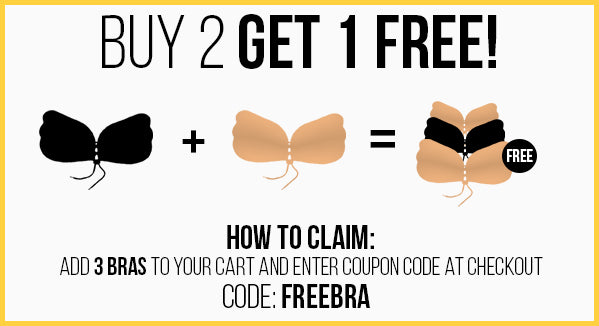 liftypro perfect sculpt sneaky vaunt buy 2 get 1 free sale strapless backless pushup bra