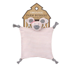 Apple Park Organic Farm Buddies Blankies - Ballerina Mouse
