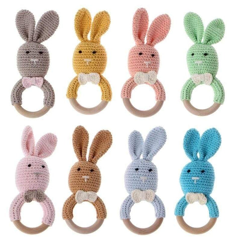 Bun Bun Rattle Teether