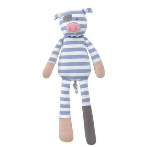 Organic Farm Buddies Plush Toys - Pirate Pig