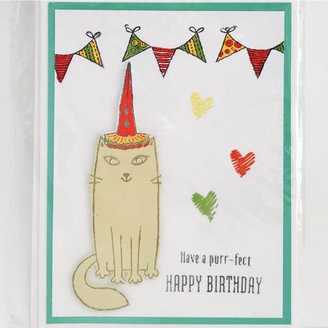 Purr-Fect Puddy Cat Birthday