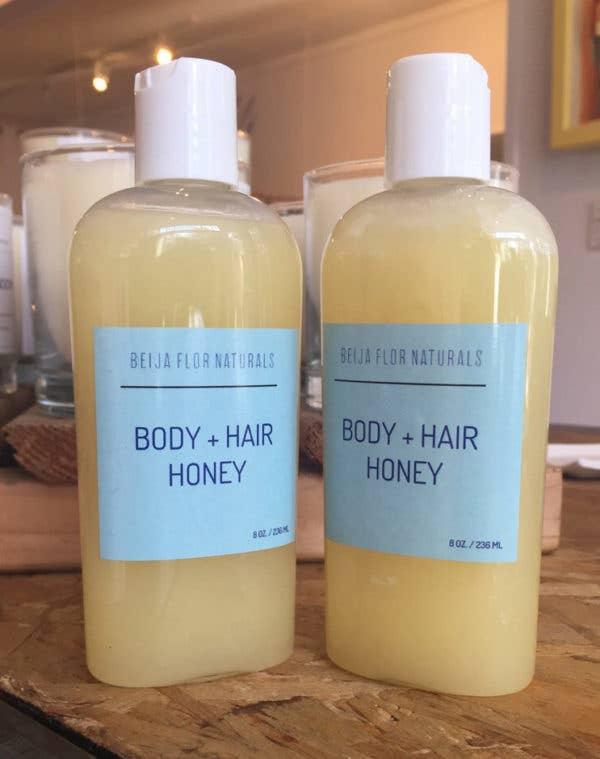 Beija-Flor Naturals - Body and Hair Honey - Queya Beauty