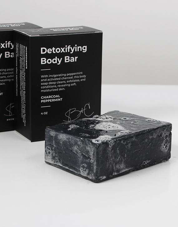 Detoxifying Body Bar - Queya Beauty