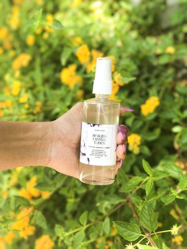 Healing Crystal Toner - Queya Beauty