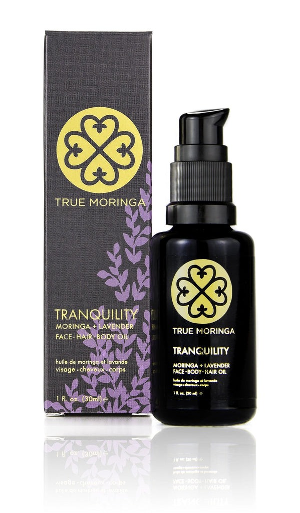 Tranquility Face · Hair · Body Oil