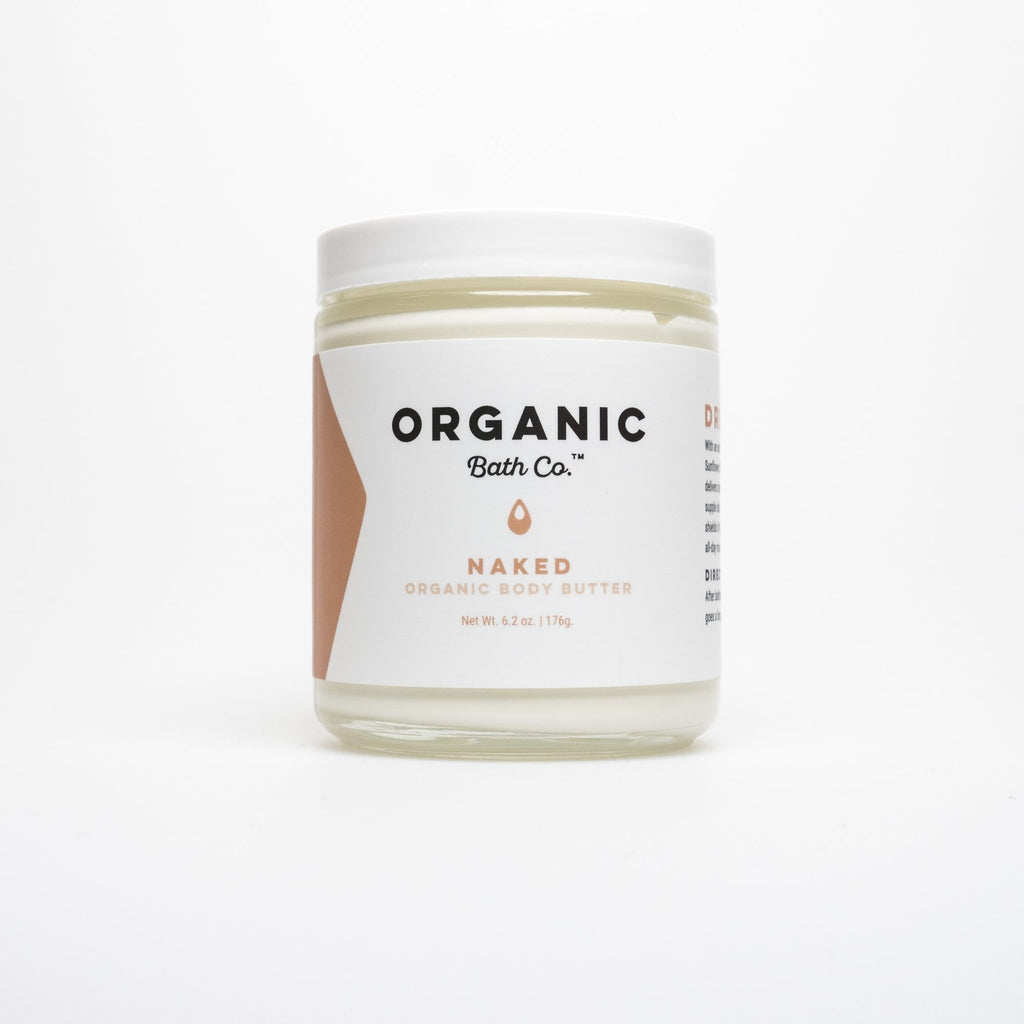 Naked Organic Body Butter with Argan & Jojoba - Queya Beauty