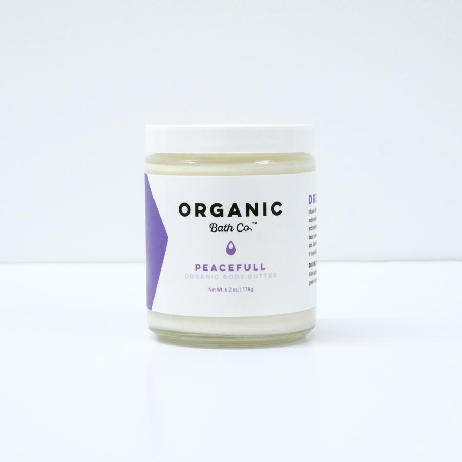 PeaceFull Organic Body Butter - Queya Beauty