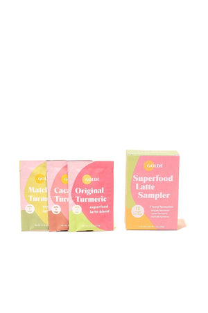 Superfood Latte Sampler - Queya Beauty