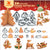 3D Christmas Cookie Biscuit Cutter Set