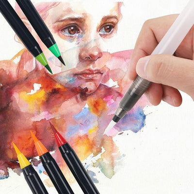 Premium Watercolor Brush Set