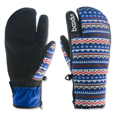 Weatherproof Ski Gloves