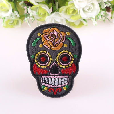 Skull Patches For Clothes
