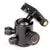 Camera Tripod Head with Quick Release