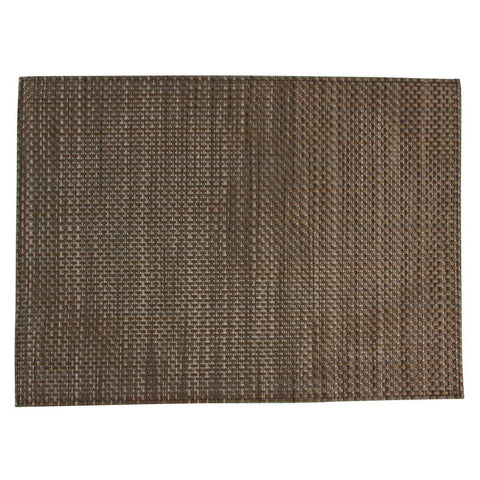 APS PVC Beige And Brown Placemat (Pack of 6)