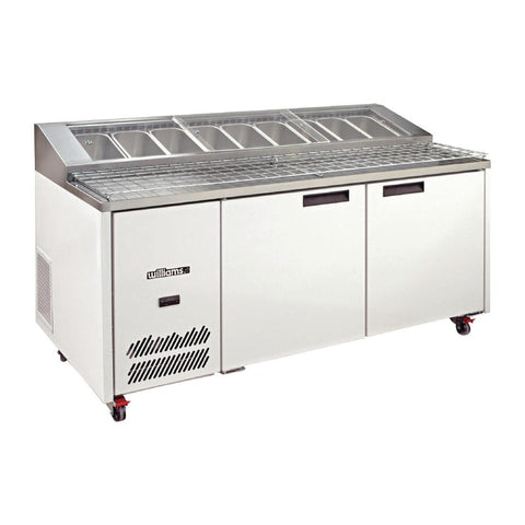 Williams 2 Door Pizza Preparation Counter HJ2PCBA Stainless Steel