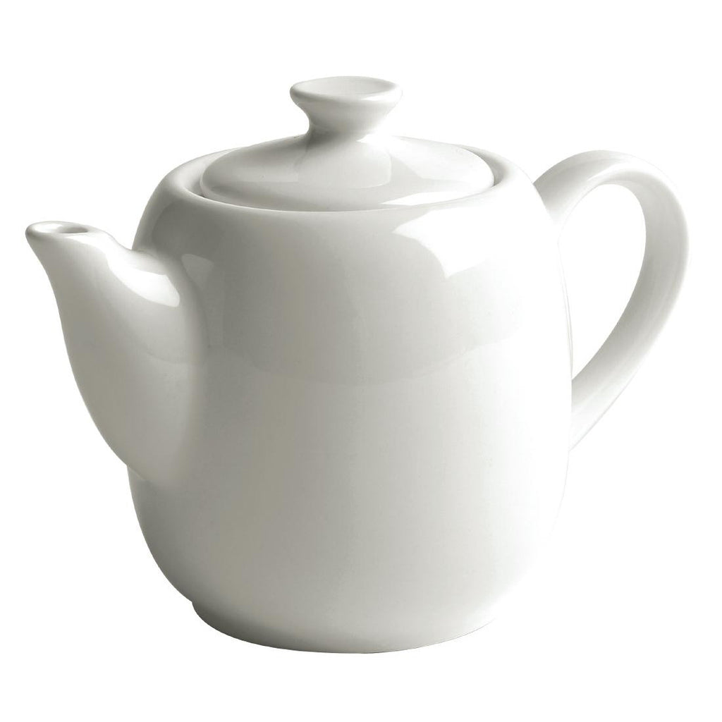 Australian Fine China Bistro Tea Pots 600ml (Pack of 12)