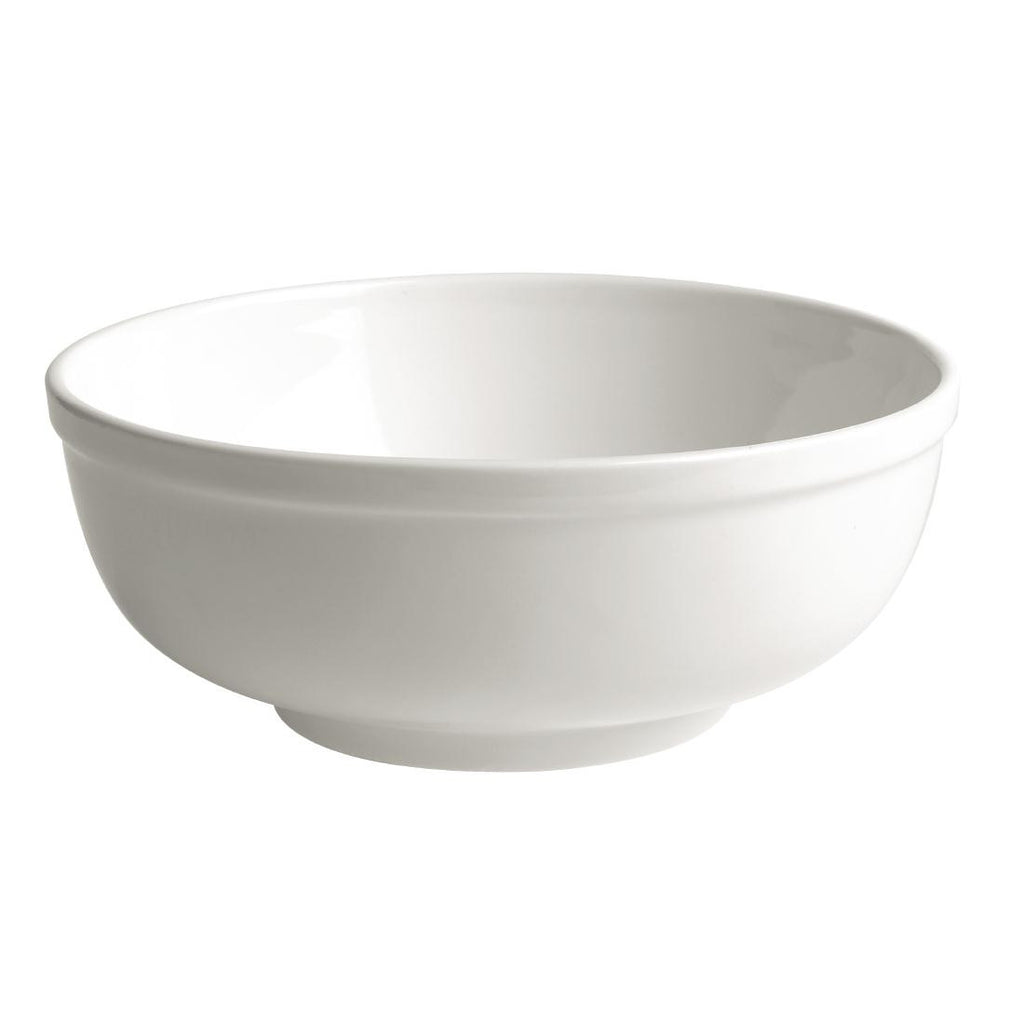 Australian Fine China Bistro Soup Bowls 185mm (Pack of 24)