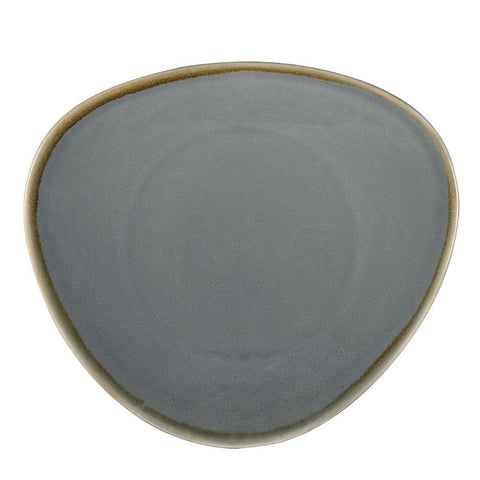 Olympia Kiln Triangular Plate Ocean 280mm (Pack of 4)