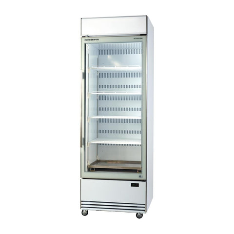 Skope BME ActiveCore Ultra High Efficient Upright Glass Door Fridge BME600