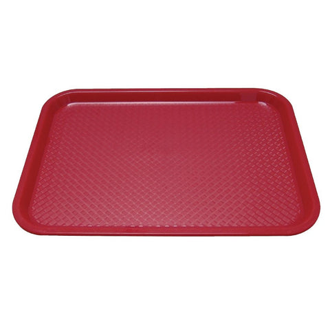 Kristallon Polypropylene Foodservice Tray 415 x 305mm Red