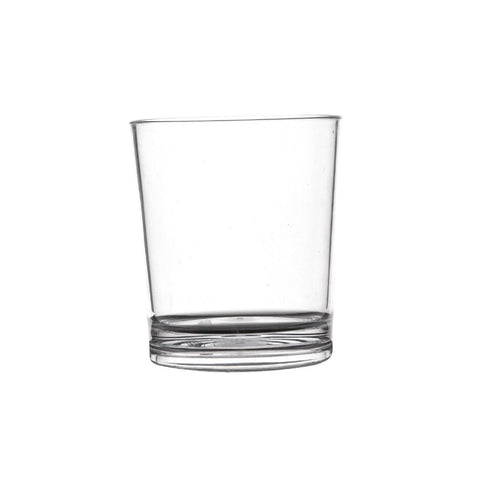 Polycarbonate Whiskey Glasses 230ml (Pack of 50)