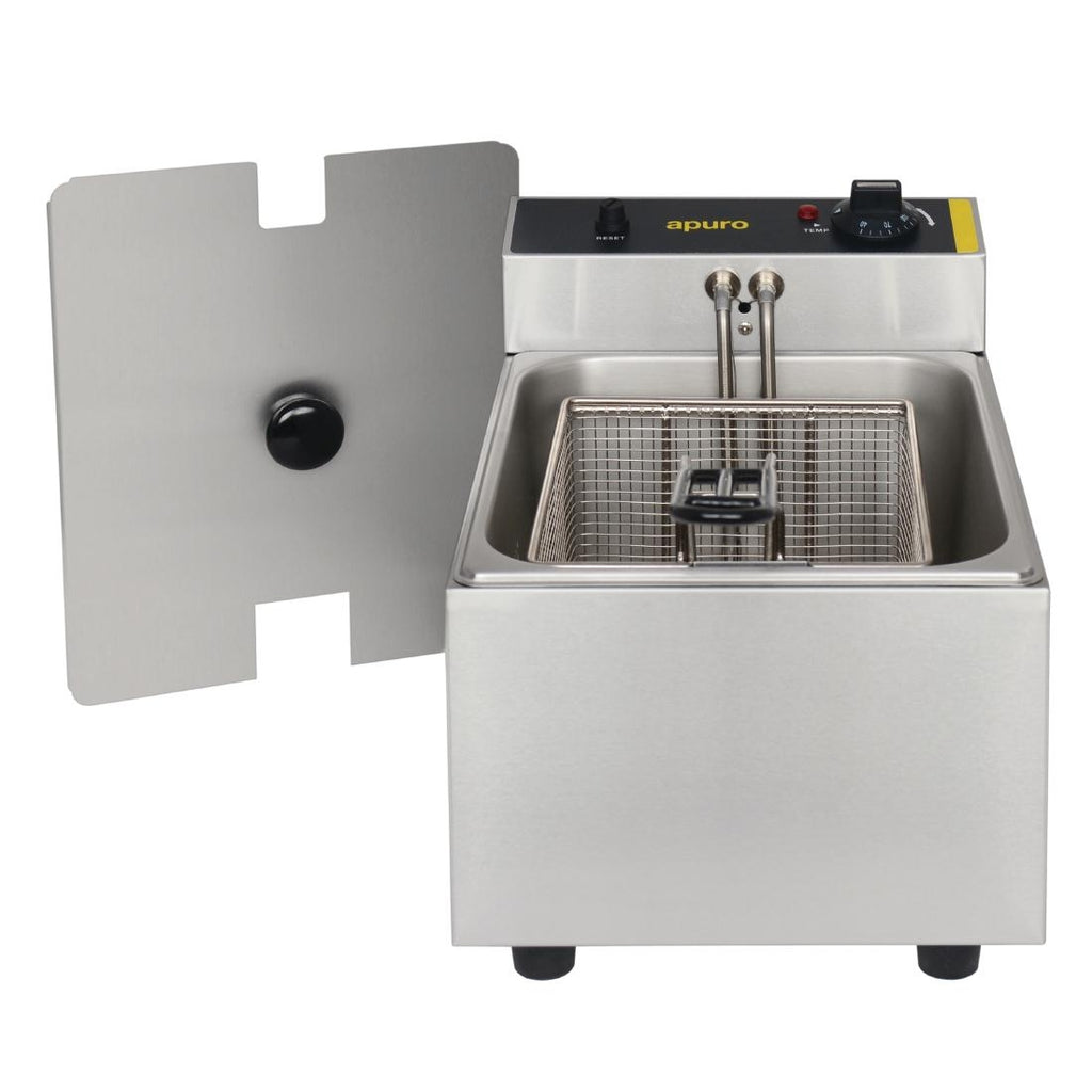 Apuro Single Pan Bench Top Fryer 5Ltr