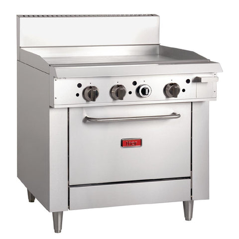 Thor 36in Freestanding Oven Range With Griddle Natural Gas
