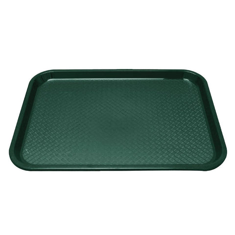 Kristallon Polypropylene Foodservice Tray 415 x 305mm Green