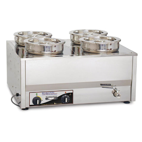 Roband Counter Top Bain Marie BM4E