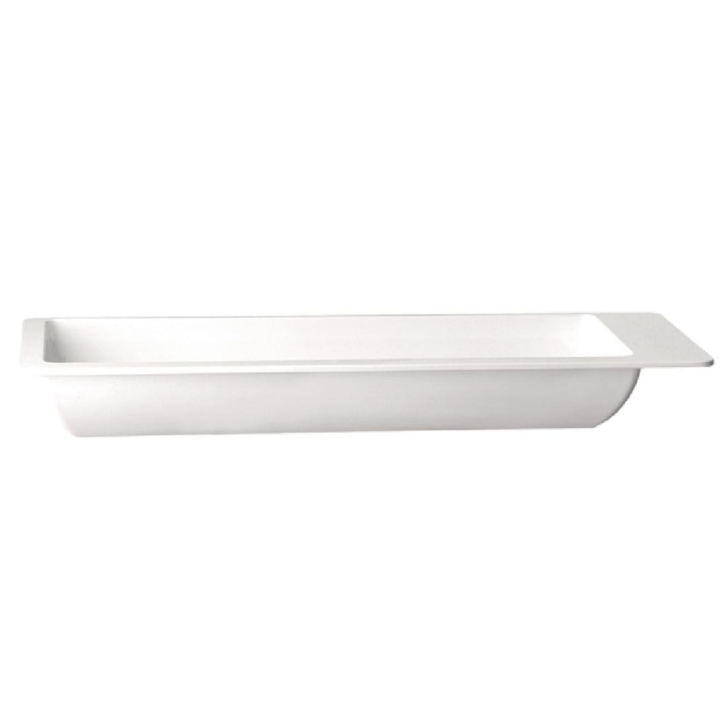 APS Apart Rectangular Melamine Tray 530 x 165mm