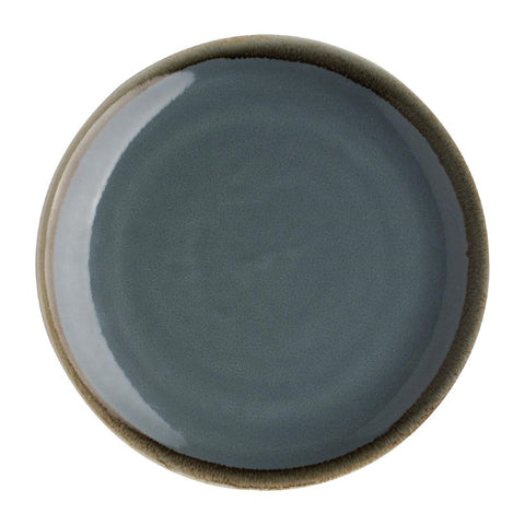 Olympia Kiln Round Coupe Plate Ocean 230mm (Pack of 6)