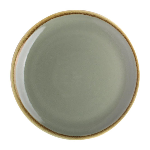 Olympia Kiln Round Coupe Plate Moss 230mm (Pack of 6)