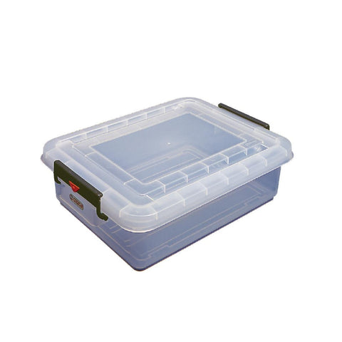 Araven Food Storage Box & Lid with Colour Clips