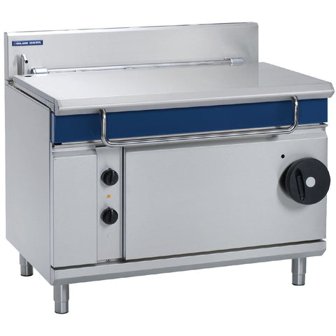 Blue Seal by Moffat 1200mm 120 Ltr Bratt Pan with Manual Tilt Natural Gas G580-12