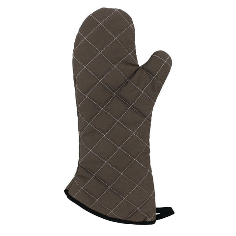Vogue Flame Retardant Tan Oven Mitt 17
