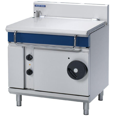 Blue Seal by Moffat 900mm 80 Ltr Bratt Pan with Manual Tilt Natural Gas G580-8