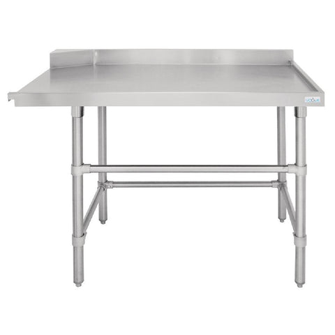 Vogue Dishwasher Outlet Table R 1200mm