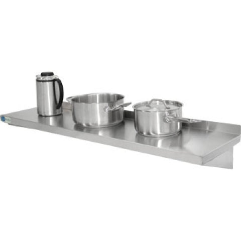 Vogue Stainless Steel Kitchen Shelf 900mm