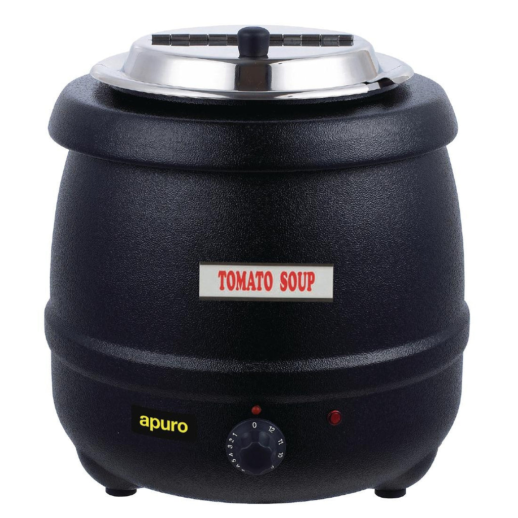 Apuro Black Soup Kettle