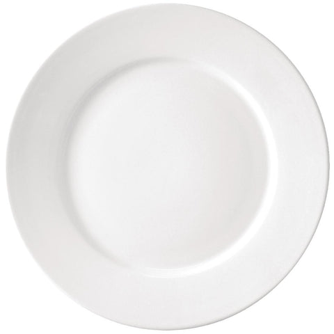 Athena Hotelware Wide Rimmed Plates 305mm (Pack of 6)