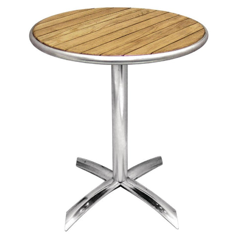 Bolero Flip-Top Table Ash 600mm