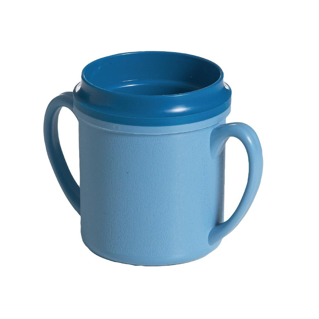 Double Handle Insulated Mug Blue (Pack of 24)