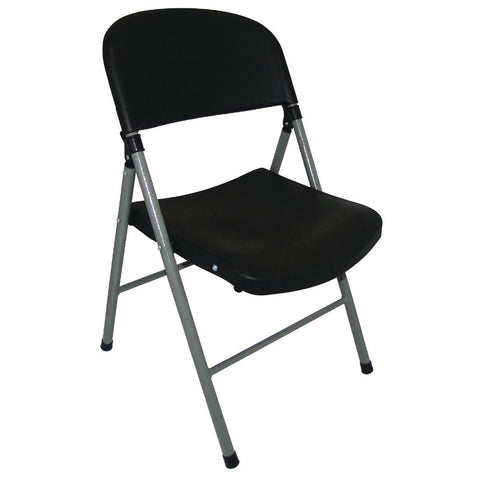 Bolero Foldaway Utility Chairs Black (Pack of 2) (Pack of 2)