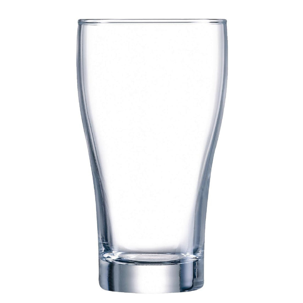 Arcoroc Conical Beer Glasses 425ml (Pack of 48)